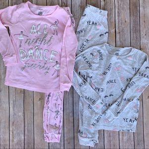 Carter's ballerina dance pajamas 2 pair